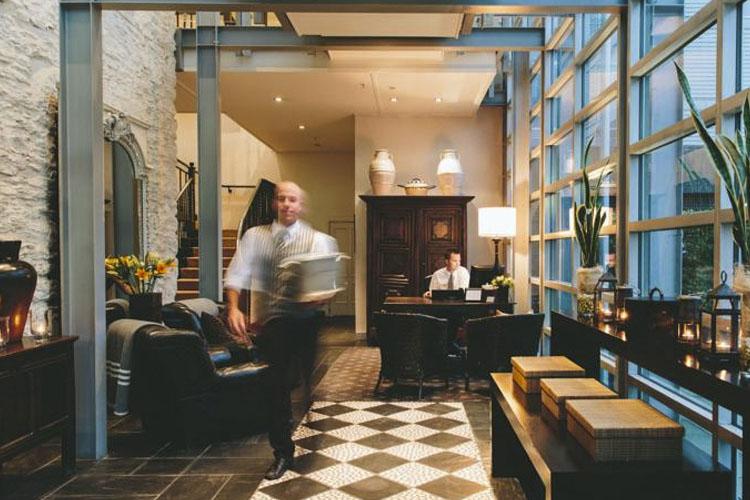 Reception - Eichardt's Private Hotel - Queenstown