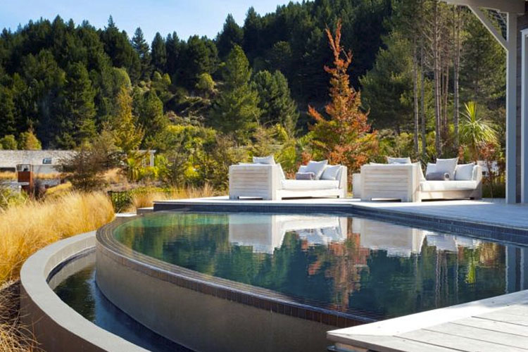 Pool - Matakauri Lodge - Queenstown