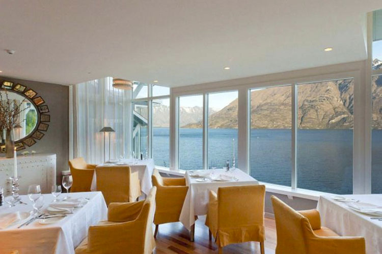 Dining Room - Matakauri Lodge - Queenstown
