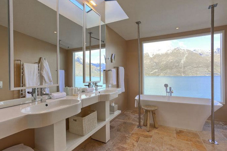 Bathroom - Matakauri Lodge - Queenstown