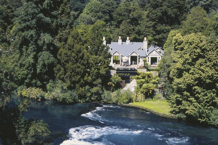 Facade - Huka Lodge - Taupo