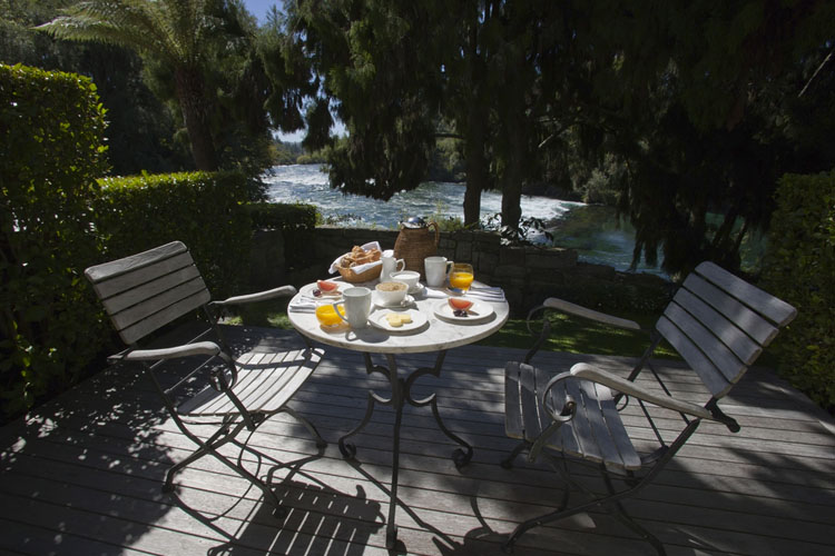 Exterior Dining Room - Huka Lodge - Taupo