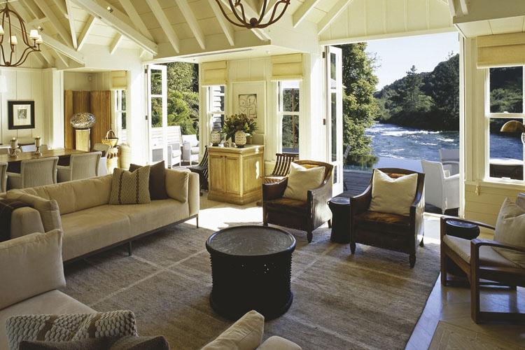 Lounge - Huka Lodge - Taupo