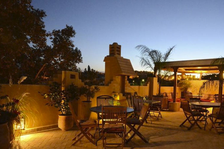 Exterior Dining Room - Dar Roumana - Fez