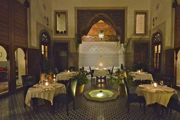 Dining Room - Dar Roumana - Fez