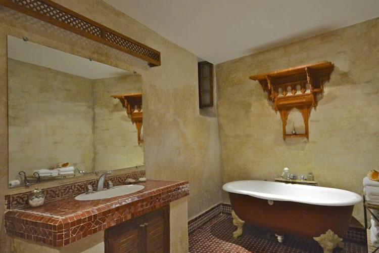 Bathroom - Dar Roumana - Fez