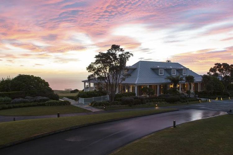Facade - The Lodge at Kauri Cliffs - Matauri Bay