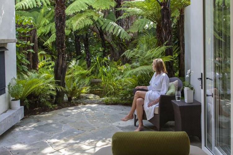 Exterior Common Area - The Lodge at Kauri Cliffs - Matauri Bay