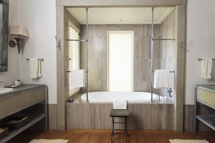 Bathroom - The Lodge at Kauri Cliffs - Matauri Bay
