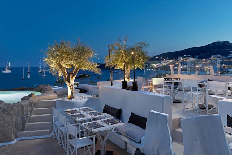 Kensho boutique hotel and suites ein boutiquehotel in mykonos for Small great hotels