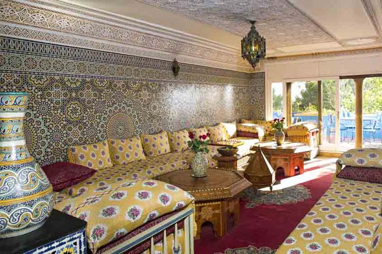 Living Room - Villa Quieta - Essaouira