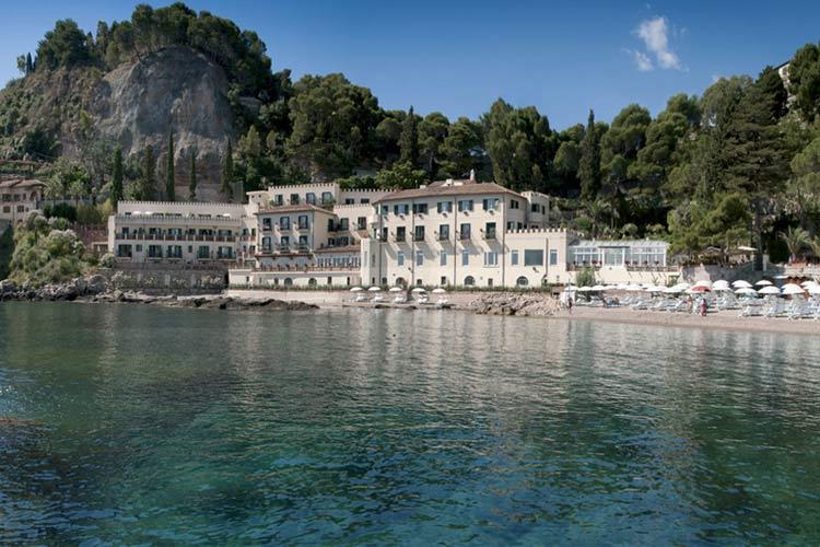 Villa sant 39 andrea a boutique hotel in taormina for Design hotel sicily