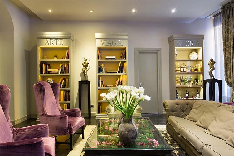 Living room - Firenze Number Nine Wellness Hotel - Florenz