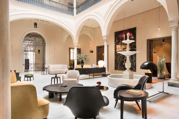 Mercer sevilla a boutique hotel in seville for Hotel design seville