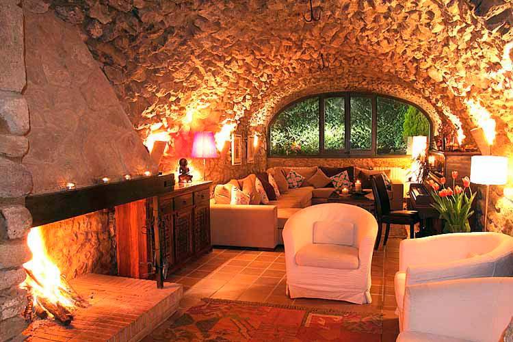Living Room - El Racó de Madremanya - Costa Brava