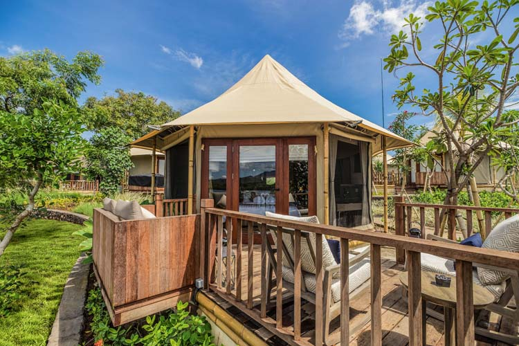 Beach Camp Tent - Menjangan Dynasty Resort - Pejarakan