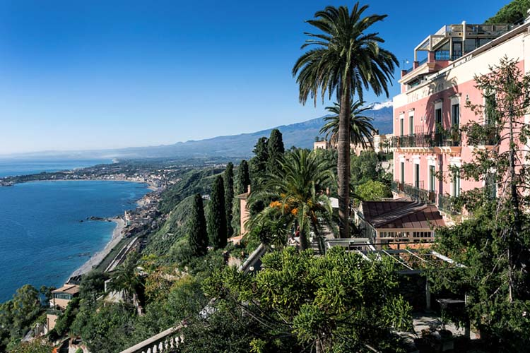 Hotel villa schuler ein boutiquehotel in taormina for Design hotel sizilien