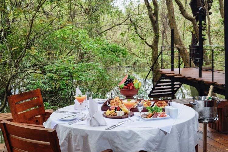 Breakfast - Kalundewa Retreat - Dambulla