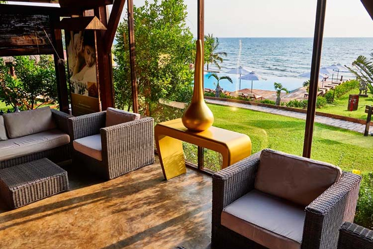 Living room - Chen Sea Resort & Spa Phu Quoc - Phu Quoc Island