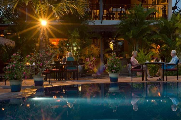 Exterior Dining Room - Battambang Resort - Battambang