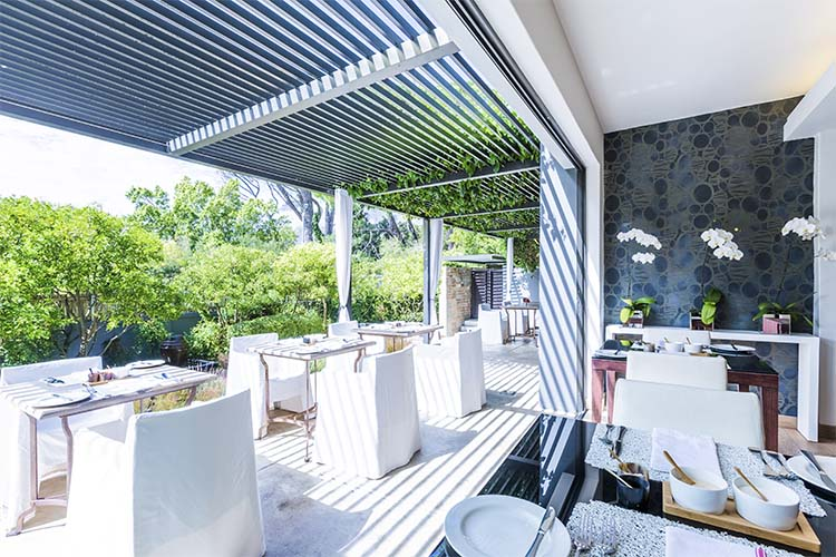 Breakfast Terrace - Kensington Place - Cape Town