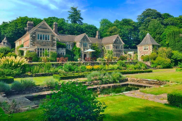 General View - Lewtrenchard Manor - Lewdown