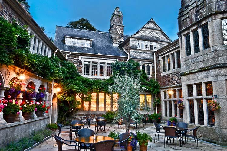Courtyard - Lewtrenchard Manor - Lewdown