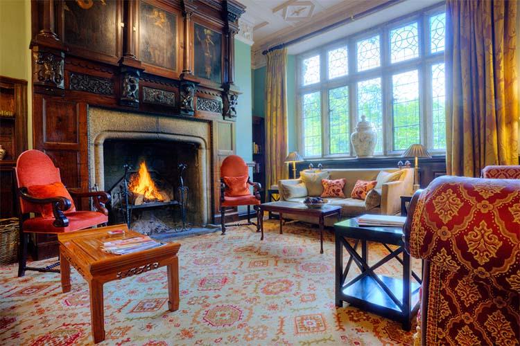 Living Room - Lewtrenchard Manor - Lewdown