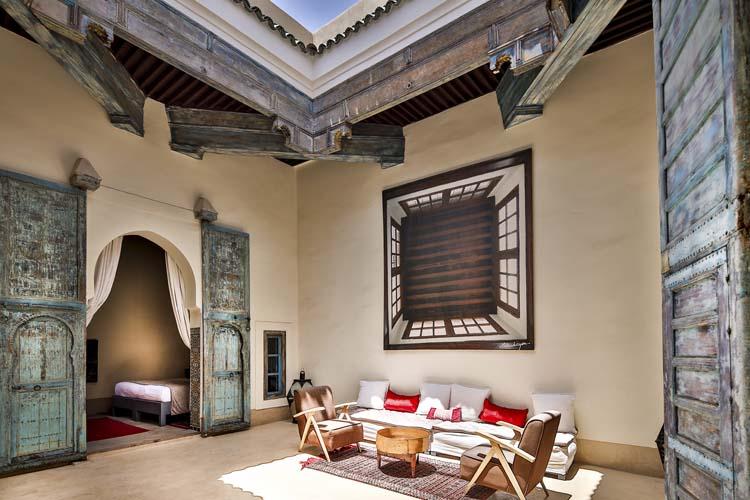 Living room - Hotel & Spa Dar Bensouda - Fez