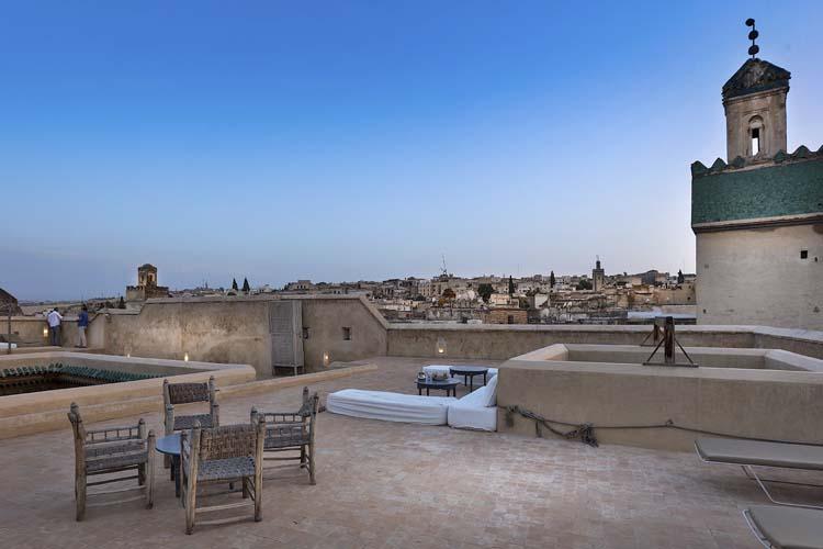 Rooftop Terrace - Hotel & Spa Dar Bensouda - Fez