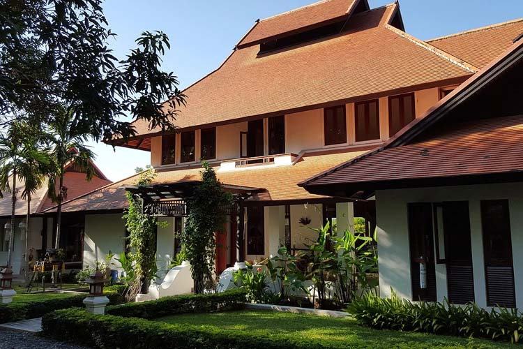 Resort Entrace - Rice and Zen Boutique Resort - Doi Saket
