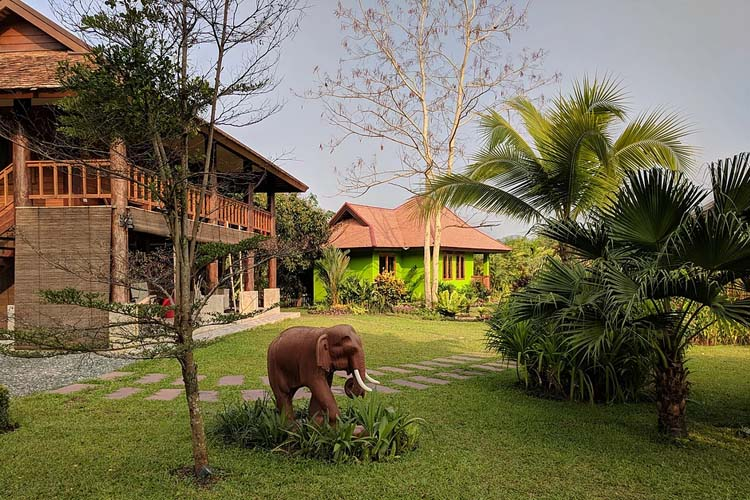 The Elephant - Rice and Zen Boutique Resort - Doi Saket