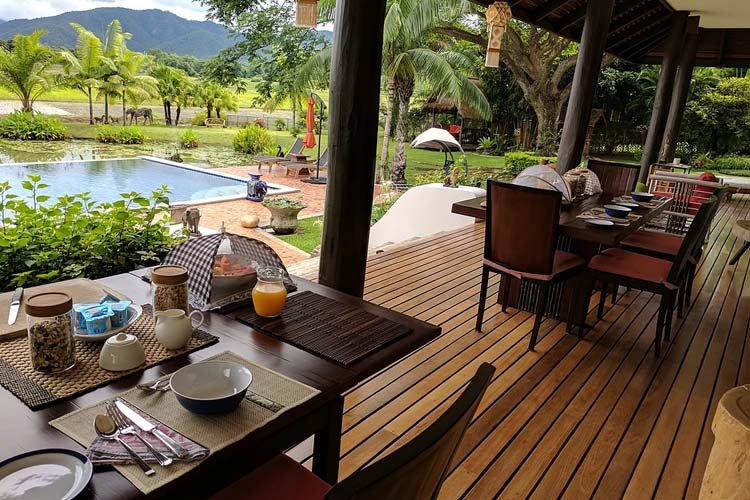 Breakfast - Rice and Zen Boutique Resort - Doi Saket