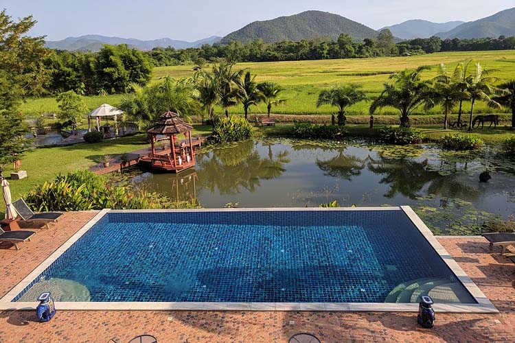 The View from Rice and Zen - Rice and Zen Boutique Resort - Doi Saket