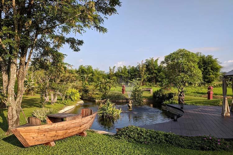 The Boat new - Rice and Zen Boutique Resort - Doi Saket