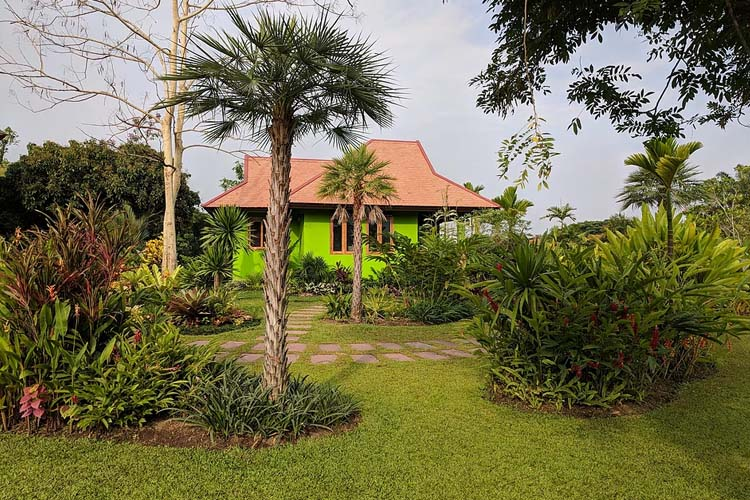 Cottage in the Gardens - Rice and Zen Boutique Resort - Doi Saket