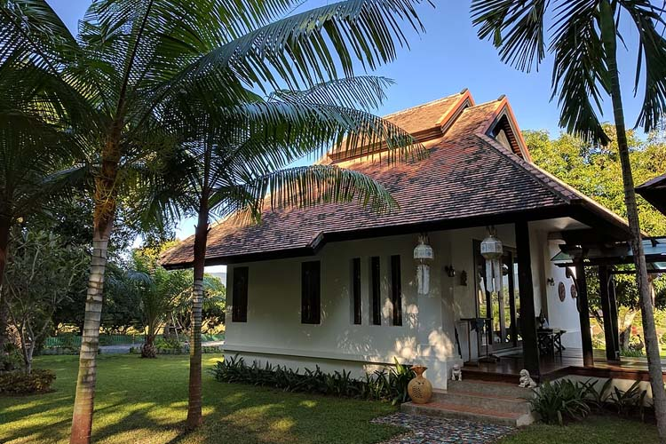 Bamboo Villa - Rice and Zen Boutique Resort - Doi Saket