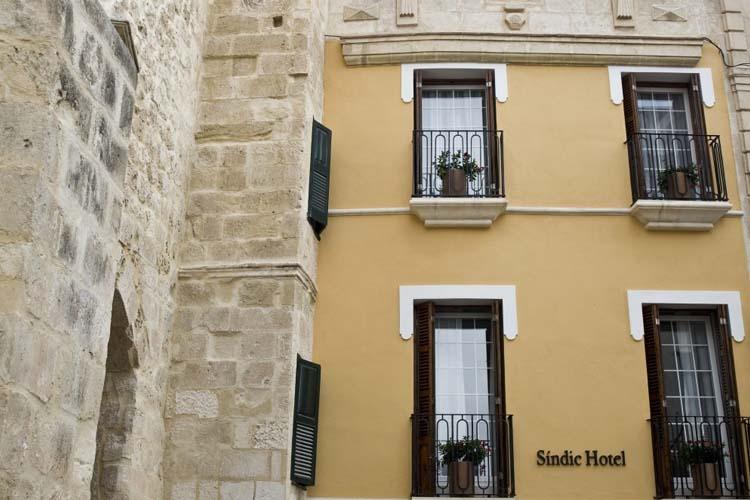 Facade - Sindic Hotel - Mahón