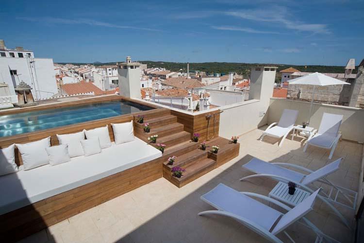 Rooftop Terrace - Sindic Hotel - Mahón