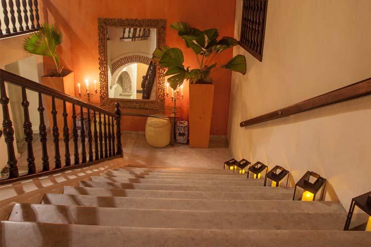 Staircase - Casa de Alba Hotel Boutique - Cartagena