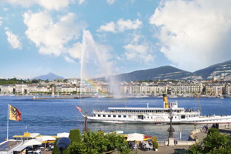 Surroundings - Hotel D'Angleterre - Genf