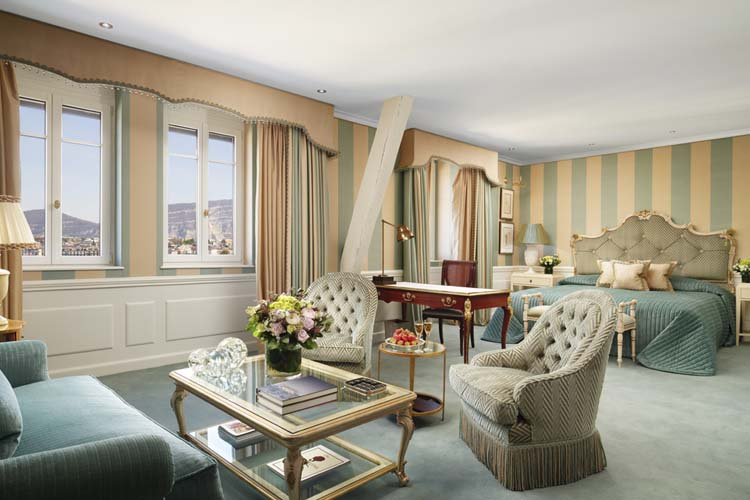 Junior Suite Lake View 424 - Hotel D'Angleterre - Genf