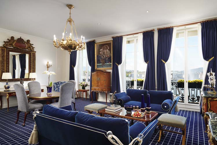 Presidential Suite - Hotel D'Angleterre - Genf