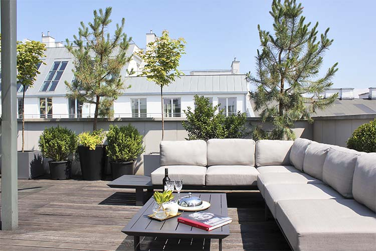 Terrace - H15 Boutique Hotel - Warschau