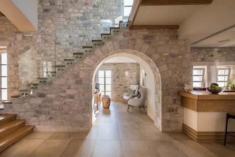 Lobby - BASSA MAINA Villas & Suites - Areopoli