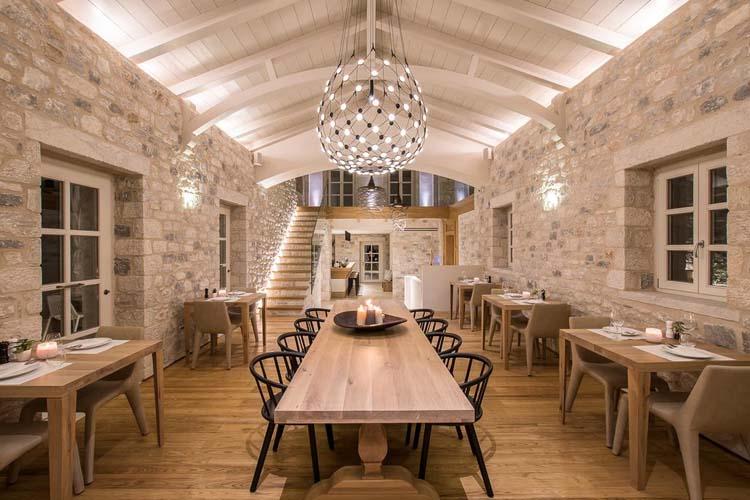 Restaurant - BASSA MAINA Villas & Suites - Areopoli