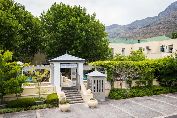Entrance - Hout Bay Manor - Hout Bay