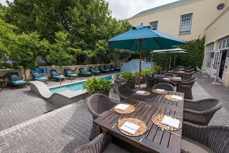 Pool & Terrace - Hout Bay Manor - Hout Bay