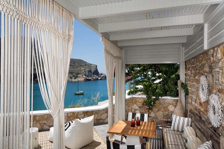 Deluxe sea view suite - Blue Sand Boutique Hotel & Suites - GREECE
