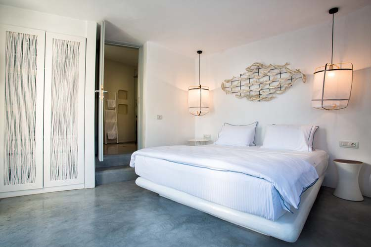 Deluxe double sea view suite - Blue Sand Boutique Hotel & Suites - GREECE